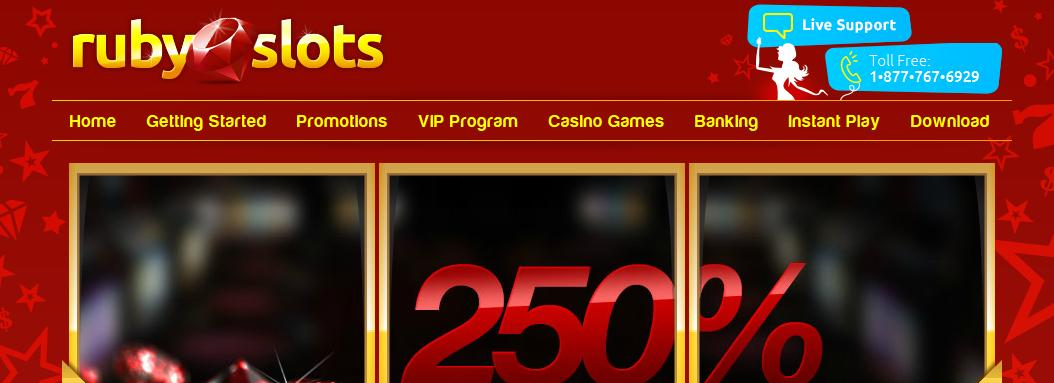 Ruby Slots Casino Support